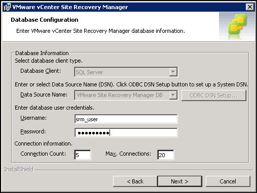 Updating VMware vCenter Site Recovery Manager to 5 5 | The