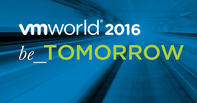 VMworld 2016 US – Day 1 General SessionOverview