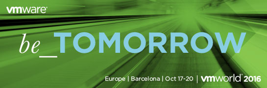 VMworld 2016 Europe – Sessions