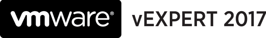 vExpert 2017 Award Announcement