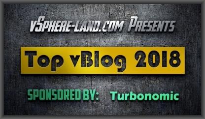 vSphere-Land Top vBlog2018