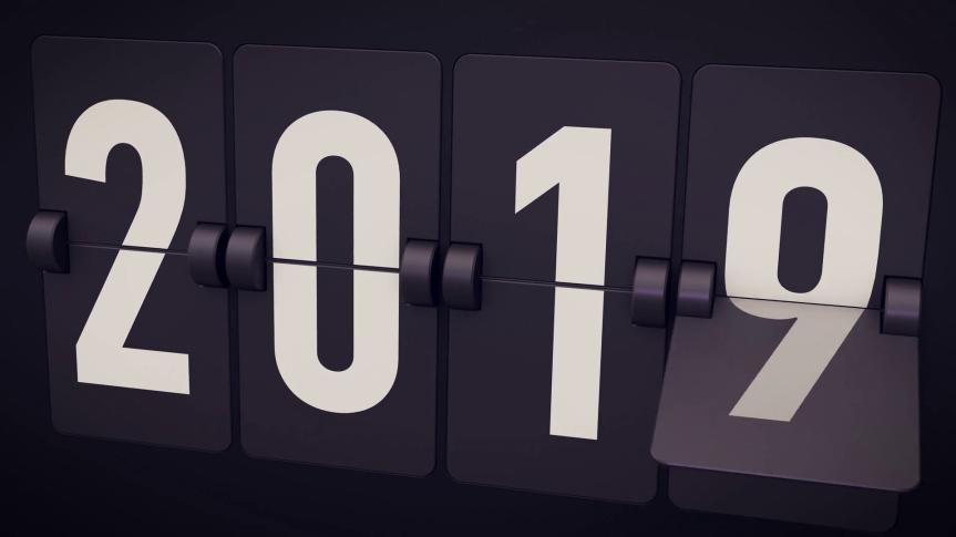 Goodbye 2018… Hello2019…